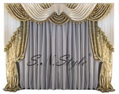 Curtains are Austrian, Austrian Kharkiv tailoring,