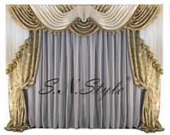 Curtains are Austrian, Austrian Kharkiv tailoring,