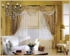 Готовые шторы,Ламбрекен,готовые римские шторы
