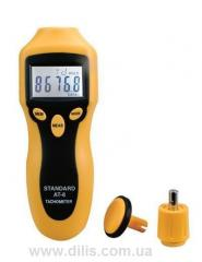 Portable optic and contact tachometer of AT-8