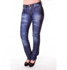 Jeans female (large wholesale) DG-2403-KO
