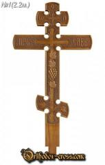 Carved crosses of handwork Ukraine