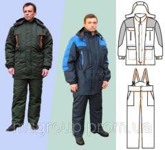 Suit working winter warmed (067) 588-56-59