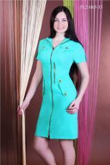 Молодежное платье бенгалин хлопок PL2-065