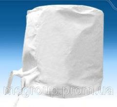 Caps white having sewed (067) 588-56-59 white cap