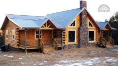 Блок хаус сосновый цельный 50 мм х 160 мм х 4,55-7,00 м