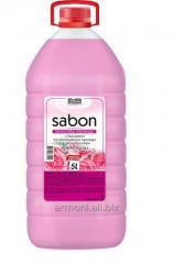 Cream-soap with Rose-petals balm of 5 l