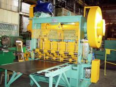Expanded metal machine.
