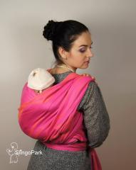 Baby sling scarf of DOLCINO jacquard Madeira