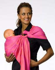 Baby sling with Dolcino Madeira rings