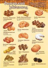 Хлебобулочные и кондитерские изделия