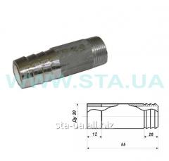 Штуцер сантехнический Ду 15,20,25,32,40 и 50  мм сталь