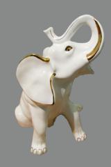 The figurine porcelain