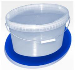 Bucket of 11 l oval