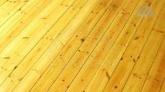 Floor coverings from a pine
