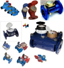Water counters, hydrometers, water counters the
