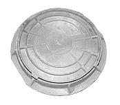 Люк канализационный чугунный (лёгкий )диаметр