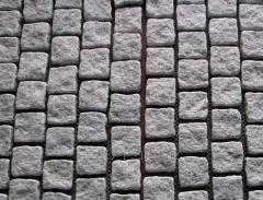 Брусчатка каменная