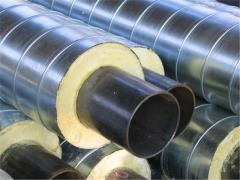 Pipe steel in SPIRO cover