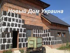 فروش فوم شیشه در اوکراین Vinnitsa خانه جدید