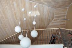 Панели декоративные из натурального дерева для
