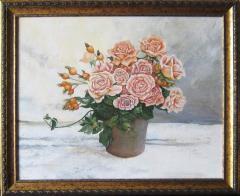 """Картина """"Розы в горшке"""""""