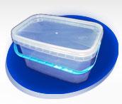 Bucket of 3 l rectangular