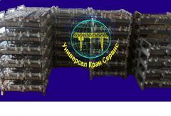 Block of resistors crane