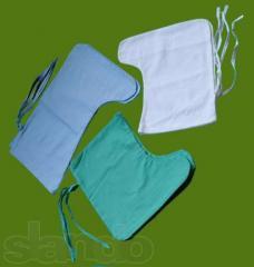 Бахилы тканивые