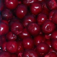Cherry boneless, fresh-frozen