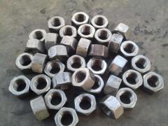 Hexagonal nut of GOST 5915-70 M3, M4, M6, M8, M12,