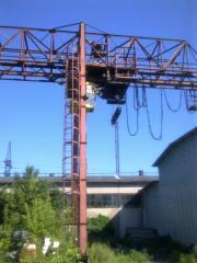 Crane of goat KKS 10/32m