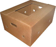 Банановий ящик. Посилений ящик для транспортування