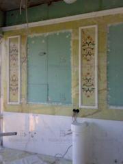 Стены из мрамора для ванной комнаты