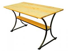 The table is standard