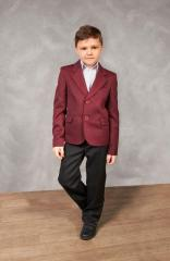 Jacket for the boy school a Bordeaux