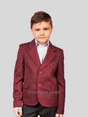 Jacket for the boy school a Bordeaux