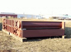 Секции теплообменника регенератора для ГТК-10,