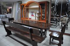 Мебель деревянная садовая Киев, купить мебель