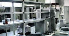 Мебель лабораторная для химических лабораторий