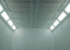 Потолочные фильтры для покрасочных камер