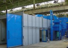 Фильтры очистки воздуха при дробеструйных работах