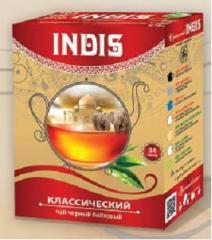 ТМ «INDIS», Чай черный байховый «Классический»