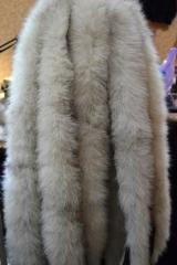 The edge from fur of a raccoon, an edge from fur
