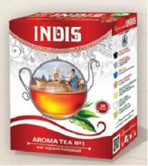 ТМ «INDIS», Чай черный байховый «Арома Ти № 1» с