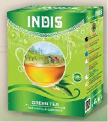 ТМ «INDIS», Чай зеленый байховый «Грин Ти»