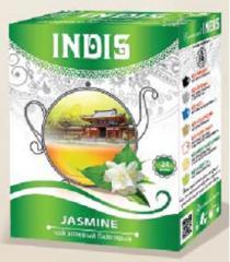 ТМ «INDIS», Чай зеленый байховый «Жасмин» с