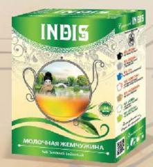 ТМ «INDIS», Чай зеленый байховый «Молочная