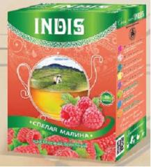 "TM ""INDIS"", long leaf green tea"