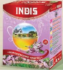 "TM ""INDIS"", Tea a black long"